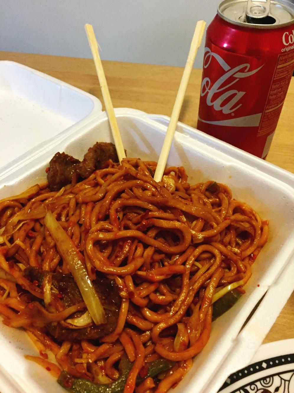 Szchechuan Beef Noodles