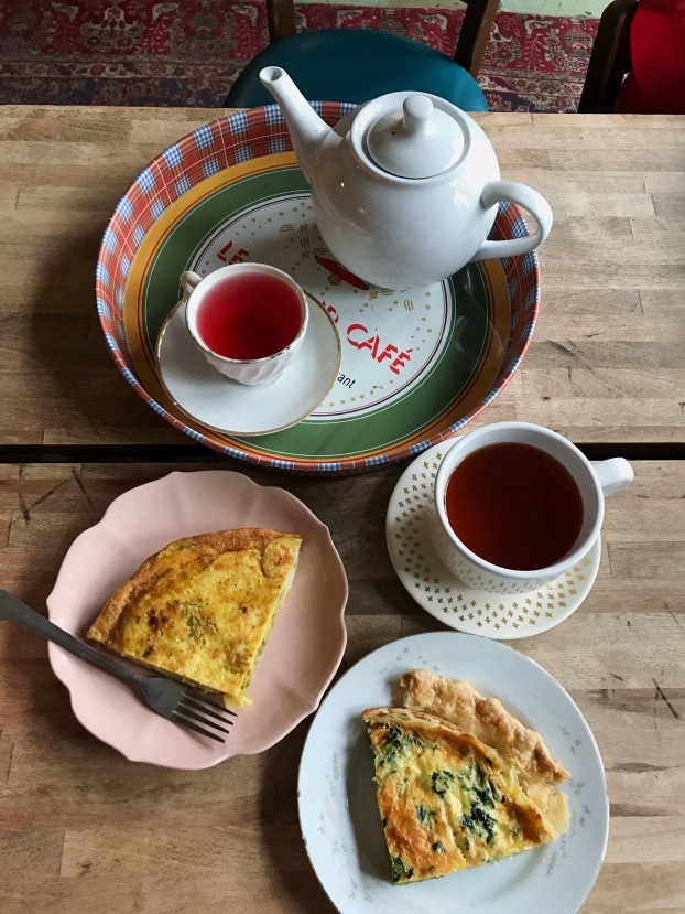 Tea and Quiche