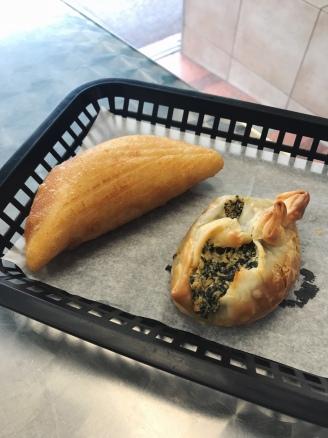 Chicken and Spinach/Cheese Empanadas