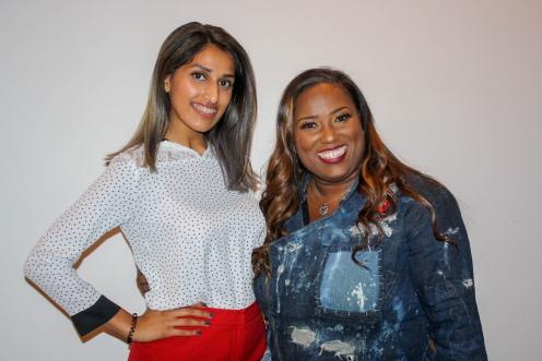 With Chef Erica Barrett